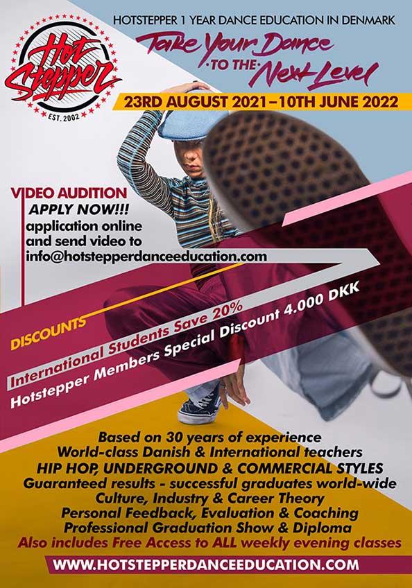hotstepper dance education flyer 2021